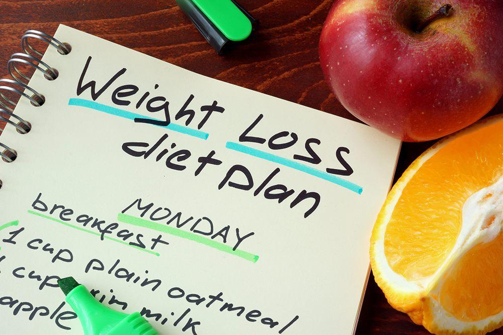 4 day diet plan